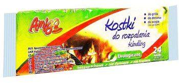 Amigo Podpałka w kostkach do rozpalania grilla 24szt