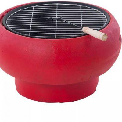 BBQ BBGRILL Grill przenośny, TUB-R, czerwony OutTrade