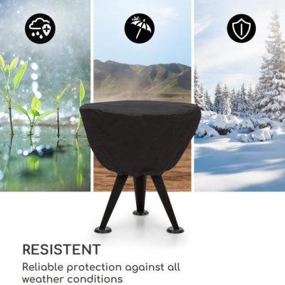 Blumfeldt Blumfeldt Caruso osłona pogodowa nylon 600D wodoodporna czarna GQ15-Caruso RC