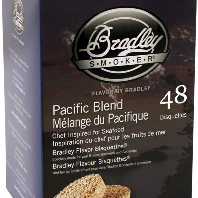 Bradley Bisquettes - Pacific Blend - opakowanie 48 sztuk BTPB48