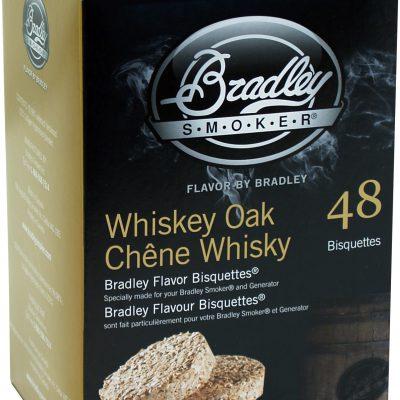 Bradley Brykiet Flavor Bisquettes 48 szt Whiskey Oak