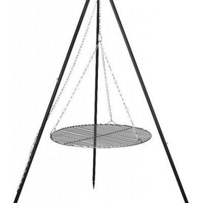 Farmcook Grill na trójnogu z rusztem ze stali nierdzewnej 50 cm