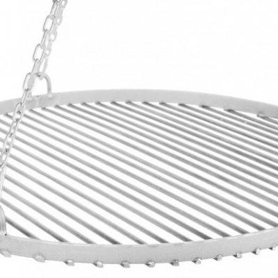 Farmcook Grill ogrodowy ruszt stal nierdzewna 60 cm+ palenisko ogrodowe PAN 37 70 cm