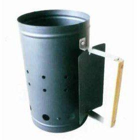 Happy Green Komin do rozpalania komin do rozpalania 5012332 Szary