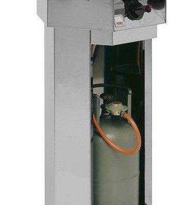 Hendi Grill gazowy FIESTA   śr. 600mm   4,8kW   600x600x(H)870mm   6002
