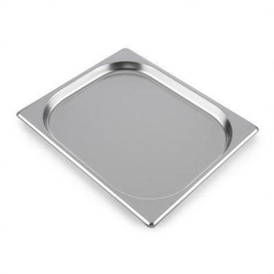 Klarstein GN pojemnik , 1/2 pojemnik gastronomiczny, do grilla Steakreaktor Pro, stal nierdzewna ST1-GN-Behälter 1/2