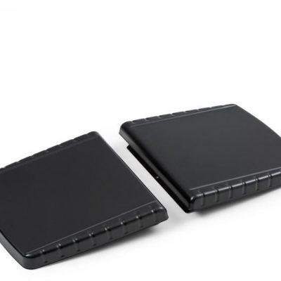 Klarstein Parforce, części boczne, akcesoria, duży schowek, czarny GQY5-Side Table x2