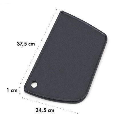 Klarstein Parforce, płyta do grillowa, gładka, żeliwo, odpływ tłuszczu, czarna GQY5-Grill Plate