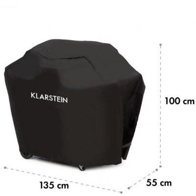 Klarstein Tomahawk 3.1 S, Pokrowiec na grill gazowy, 300D 30/70% PE/PVC, czarny GQY9-T3.1-S-Cover