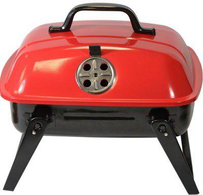 Saska Garden Grill piknikowy Ranger Czarno-czerwony