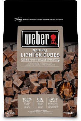 Weber rozpałka w kostkach do grilla 17612